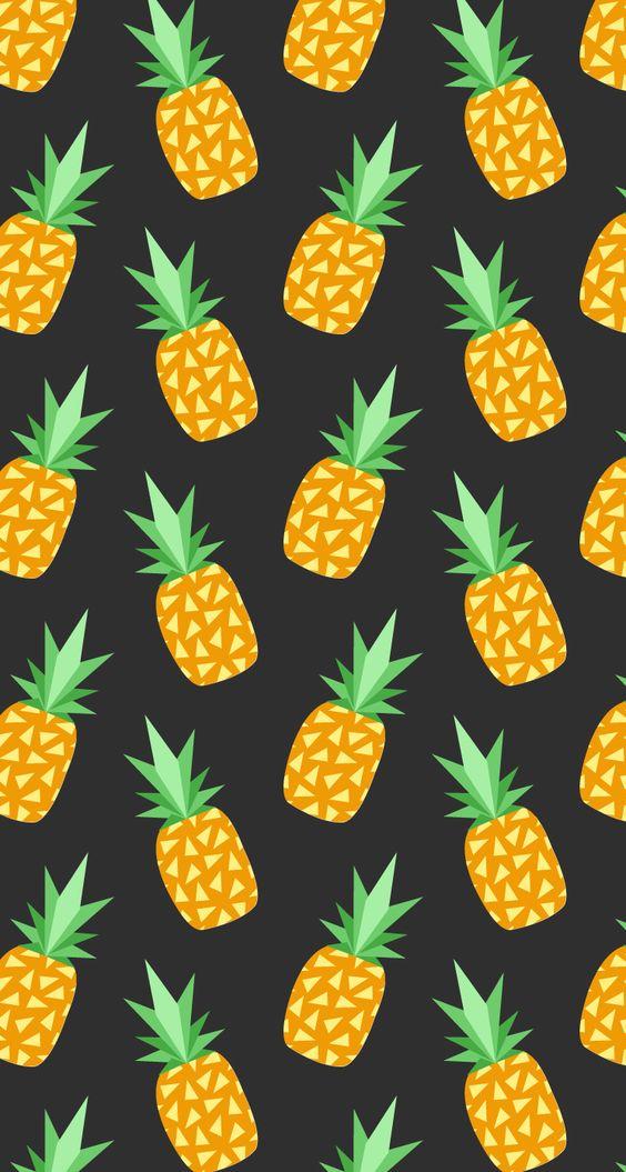 Pineapple clipart wallpaper Tumblr wall Wallpaper wall Tumblr
