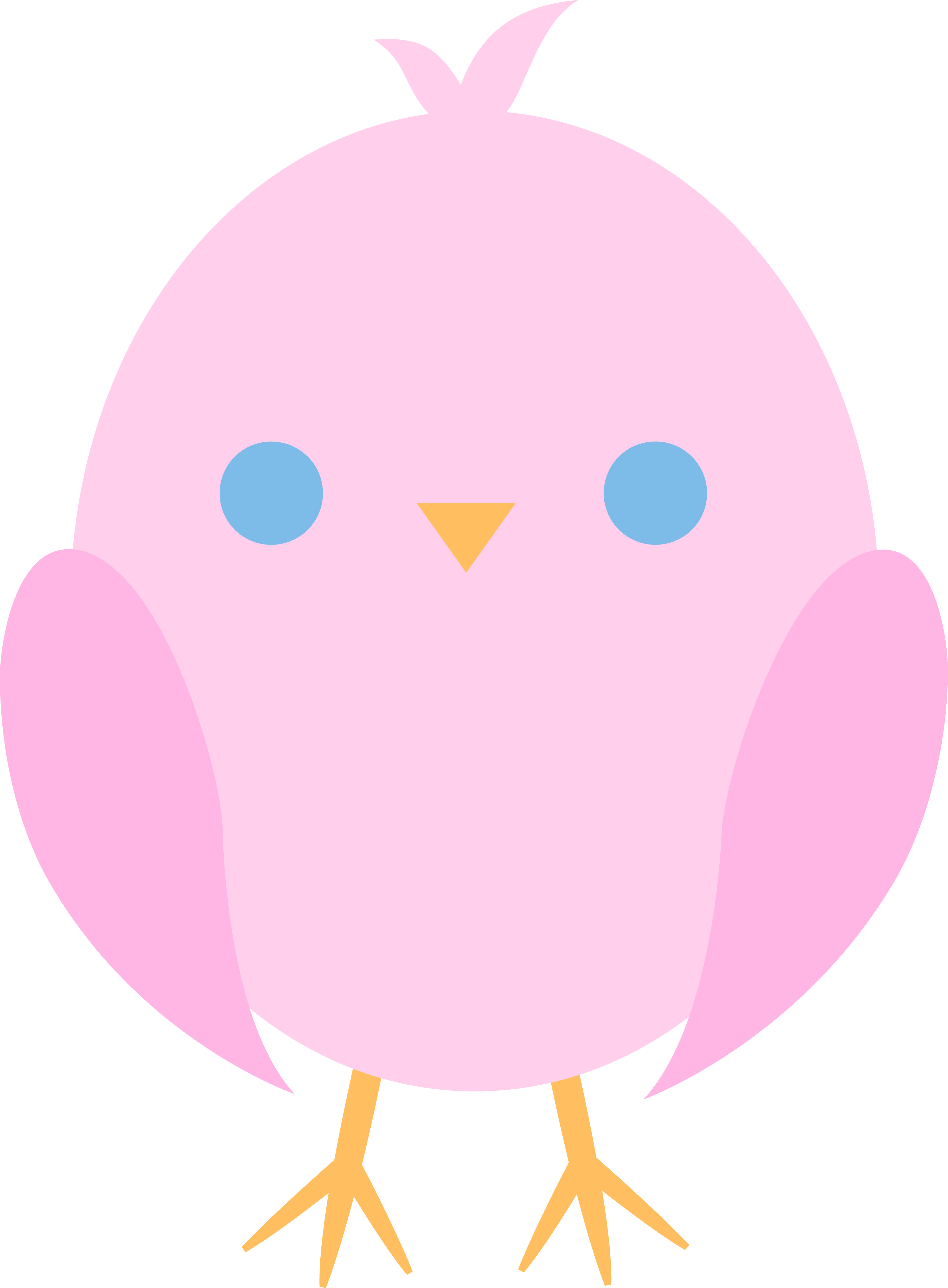Brds clipart baby pink Easter Chick Clip Little Chick