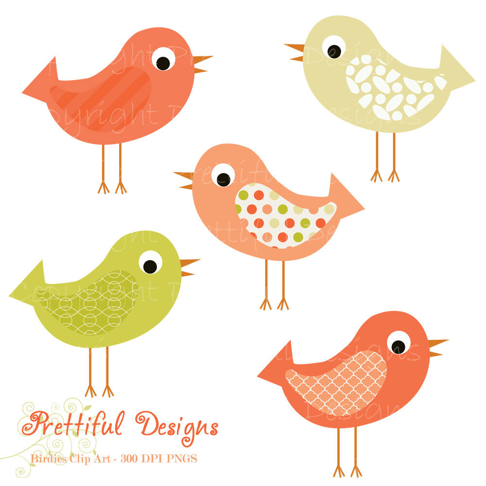 Bird clipart spring bird Clip bird tweet art Free
