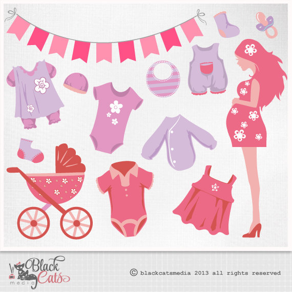 Mommy clipart baby shower #2