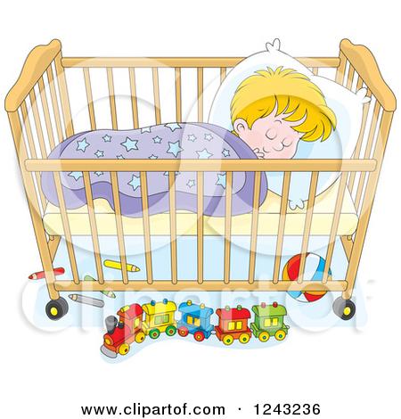 Pink clipart baby crib  clipart Clipart Nursery nursery