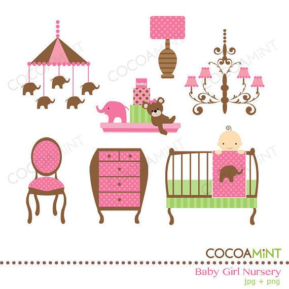 Pink clipart baby crib Images printable Clip Crib best