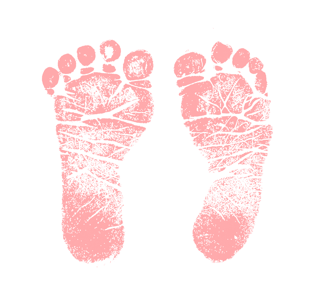 Pink clipart baby foot  and Free feet eBay