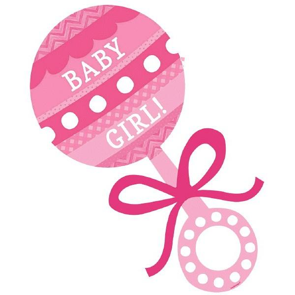Pink clipart baby rattle Pink Pin girl of Art