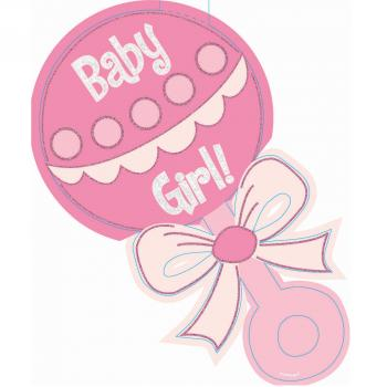 Pink clipart baby rattle Clipart Girl Top #21787 Baby