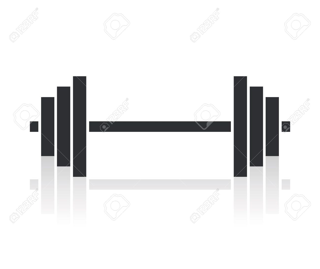 White clipart barbell Barbell Clipart cliparts Barbell From