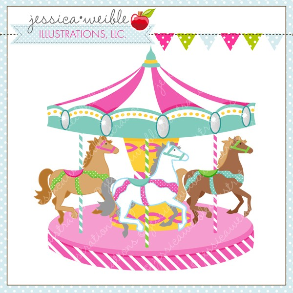 Pink clipart carousel Royalty PNG Carousel clipart a