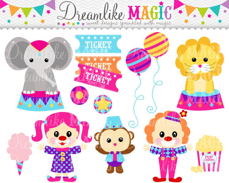 Bird clipart circus For Monkey Tickets or Circus