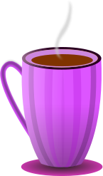 Pink clipart coffee cup 1) arts #4 Download Coffee