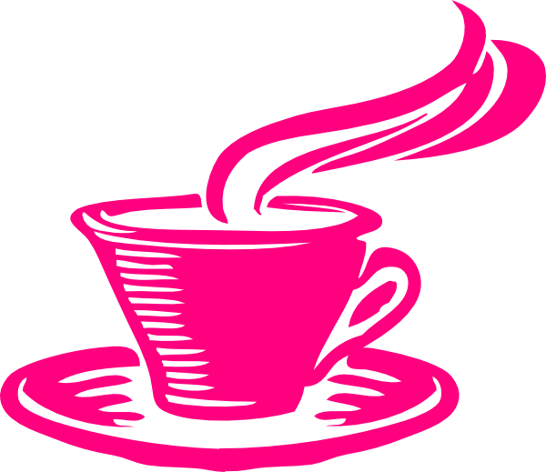 Pink clipart coffee cup Clip com image Art Download