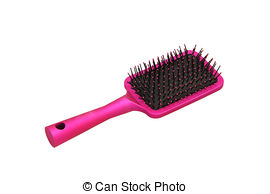 Pink clipart hair brush Hair  Images of her