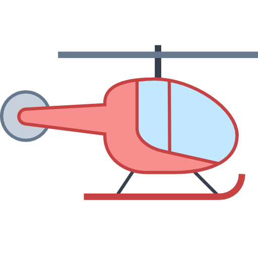 Pink clipart helicopter Icons8 Helicopter Download at icon