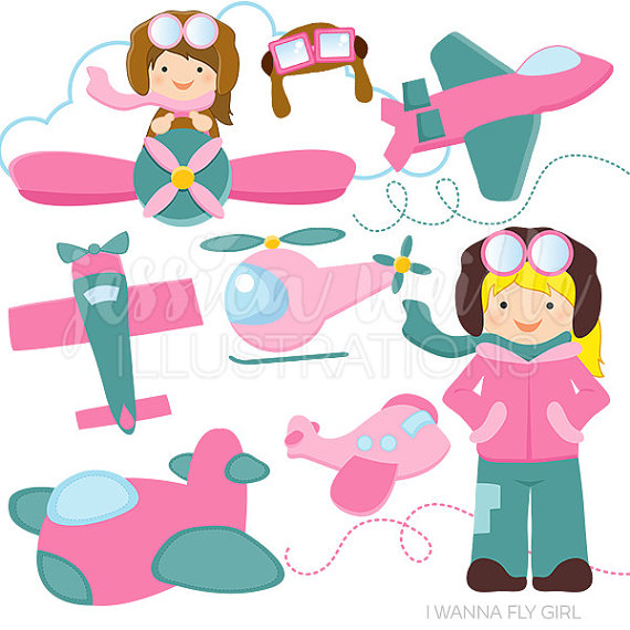 Pink clipart helicopter Digital Wanna Use Version Clip