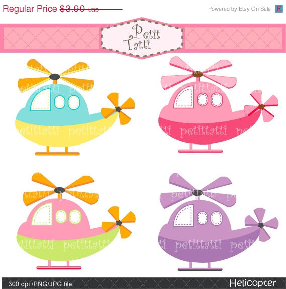 Pink clipart helicopter Art art to art clip