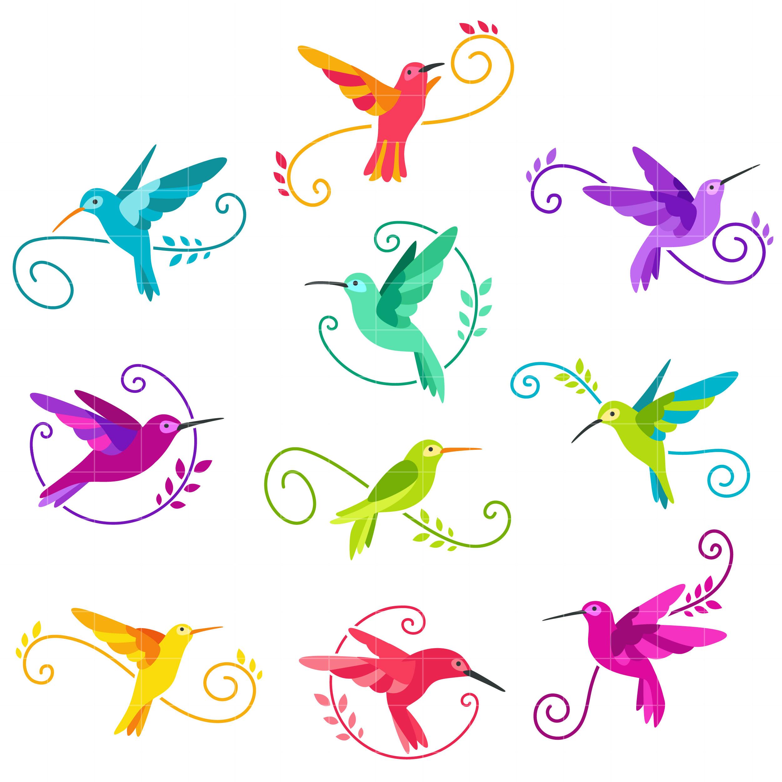 Pink clipart hummingbird Art and clipart Hummingbird digitizing
