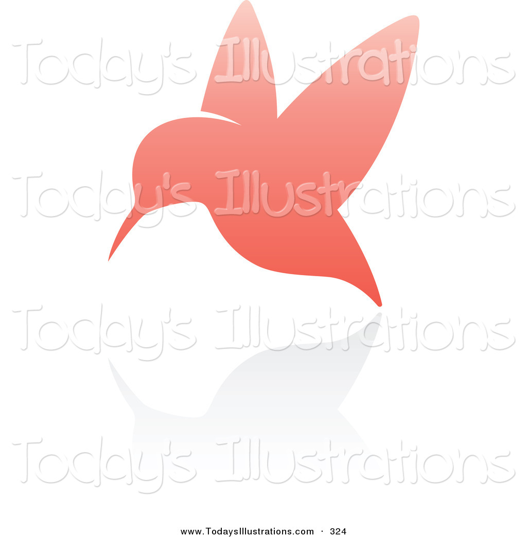 Pink clipart hummingbird Or a Free Royalty with
