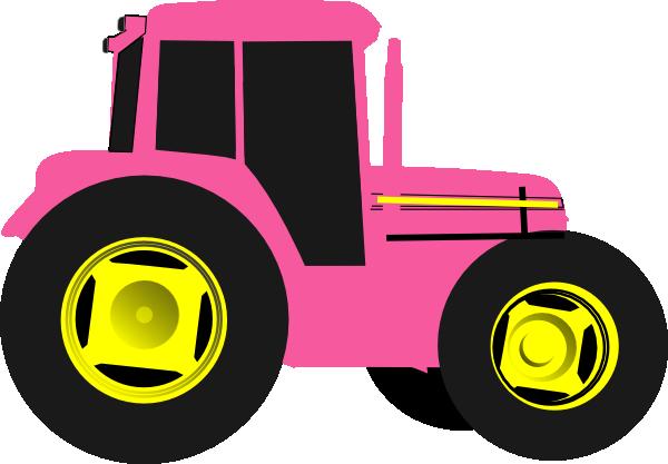 Pink clipart john deere Tractor Panda Free Clipart Images