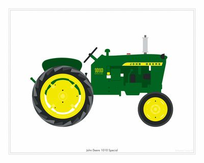 Pink clipart john deere Tractor Tractor and Print art