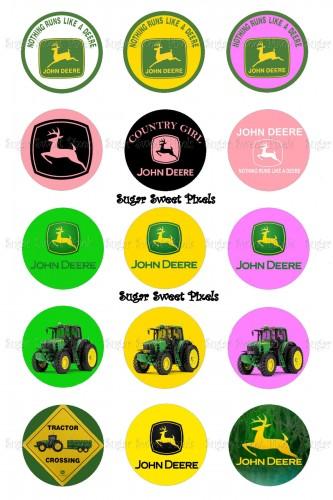 Pink clipart john deere Art Deere Logo (37+) John