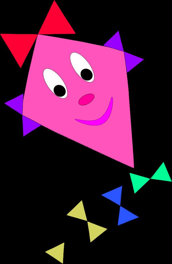 Pink clipart kite Kite Clipart 105 Clipart Kite