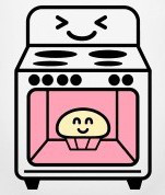 Pink clipart oven Flores – Michelle Bloggy Cake