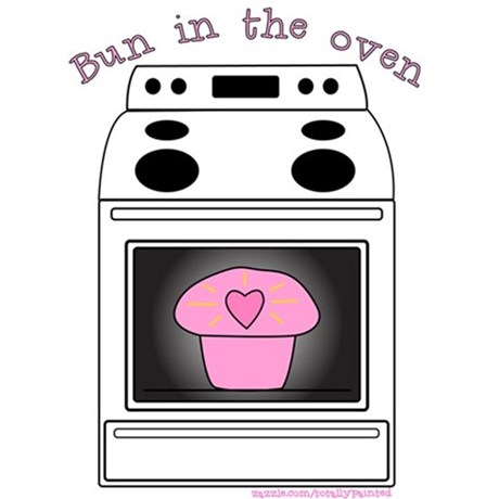 Pink clipart oven The Oven  Clipart Bun