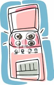Pink clipart oven And Pink Oven Clipart and