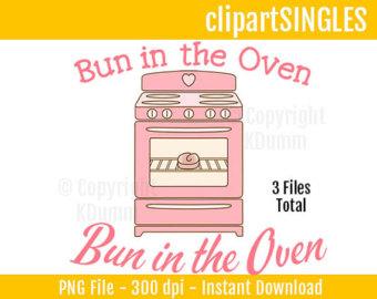Pink clipart oven Page 59 magiel Vectors Bun