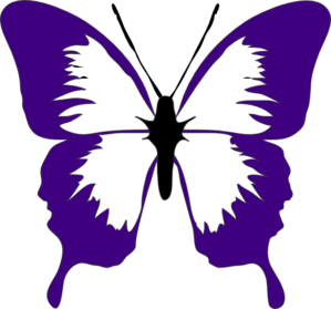 Beautiful clipart purple butterfly Clipart Clipart Panda And Clipart