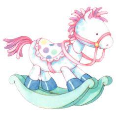 Blur clipart rocking horse 196Kb) ✿⁀ rocking ‿✿⁀ 025