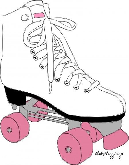 Pink clipart roller skate SKATE! on Pinterest 171 best