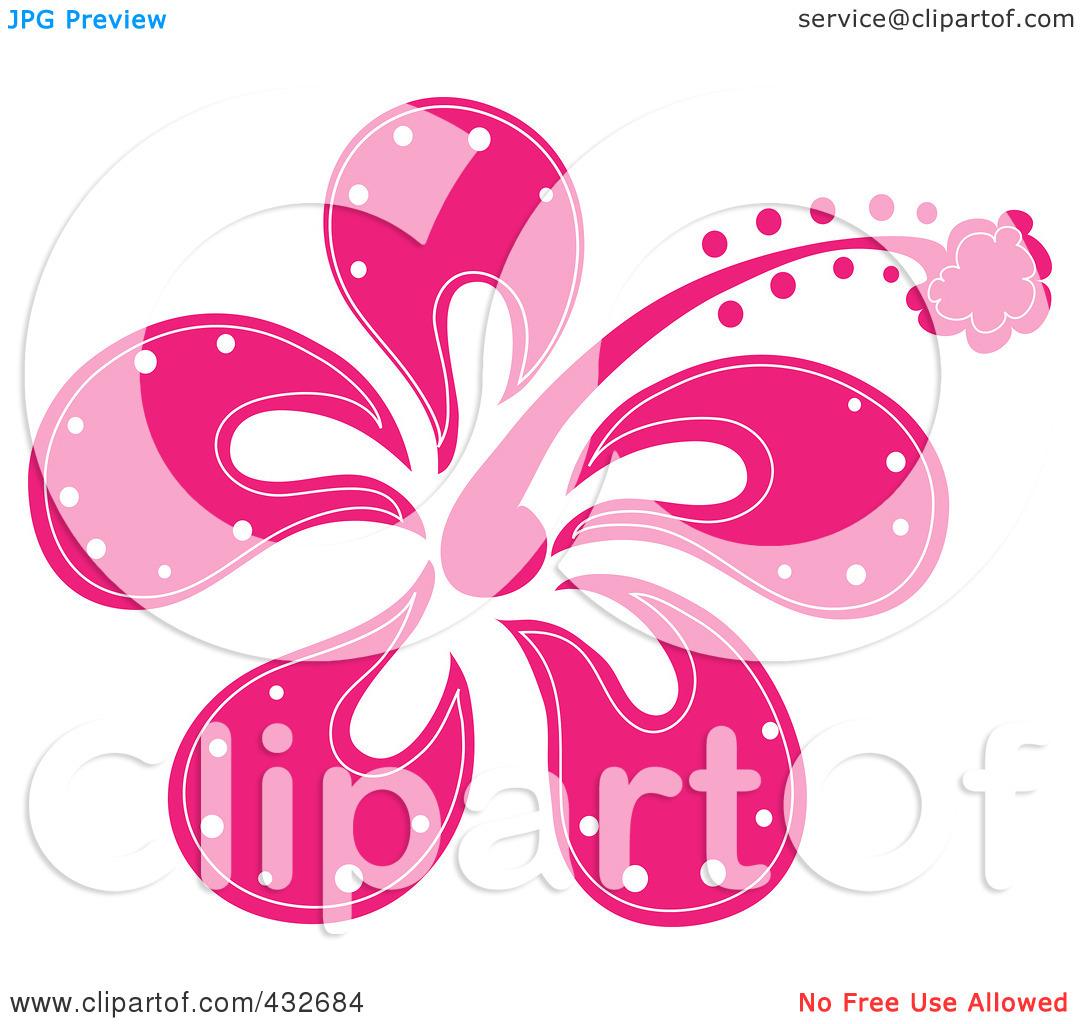 Pink clipart surfboard Surfboard Pink Surfboard Flower Download