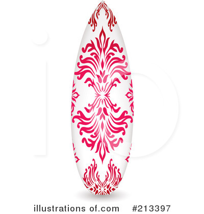 Pink clipart surfboard Surfboard Illustration #213397 by #213397