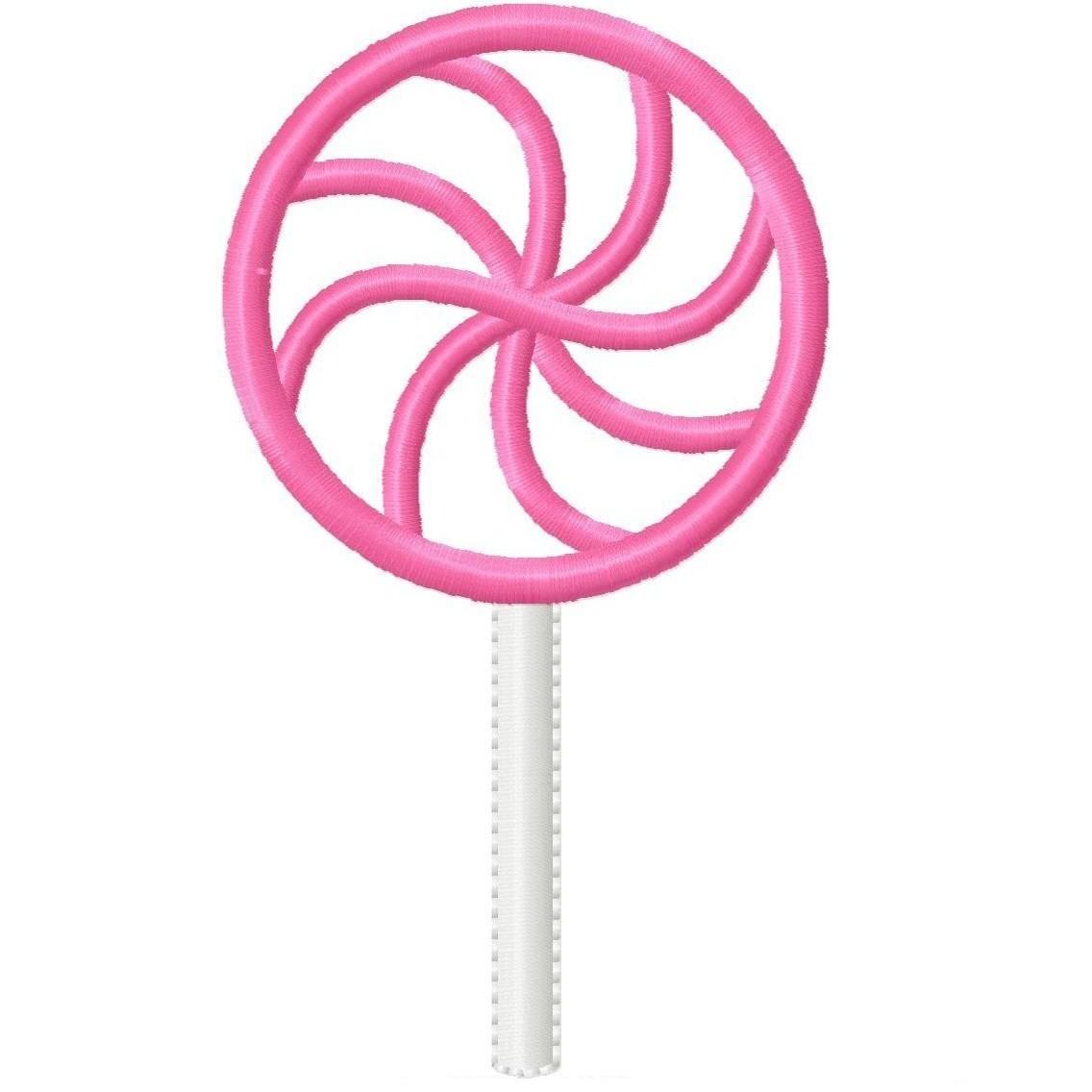 Pink clipart swirl lollipop Clipart swirl art Lollipop lollipop