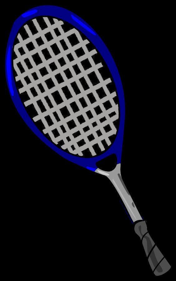 Pink clipart tennis racket Tennis art clker art at