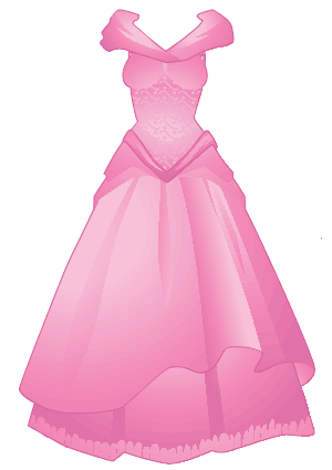 Pink Dress clipart Art Free Free Art Dress