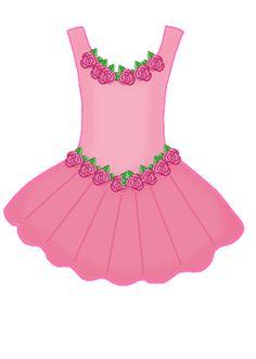 Pink Dress clipart #15