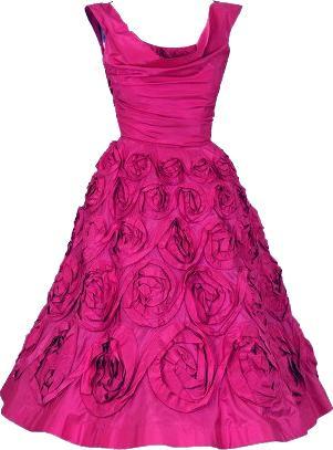 Pink Dress clipart #14