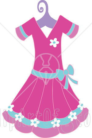 Pink Dress clipart Panda Images Clipart Clipart Free