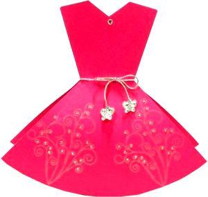 Pink Dress clipart #13