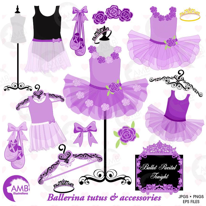 Pink Dress clipart ballet costume Is clipart tutus Ballet digital