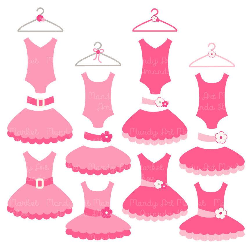 Pink Dress clipart ballet costume Tutu item Pink with Premium