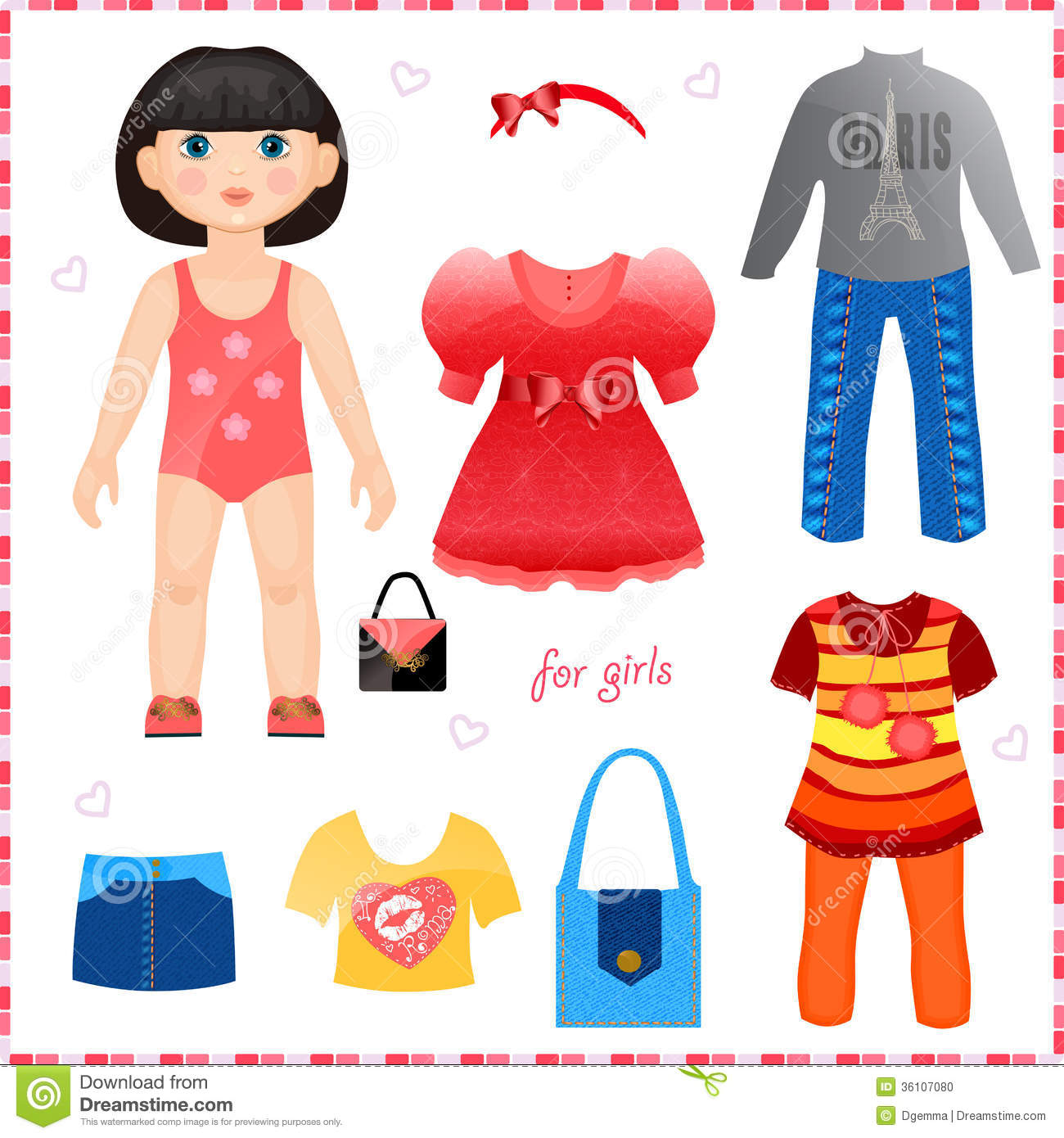 Doll clipart doll clothes Doll Clipart Clothes Clipart Clothes