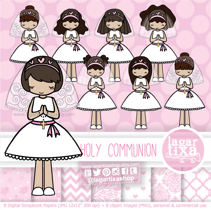 Pink Dress clipart first #14