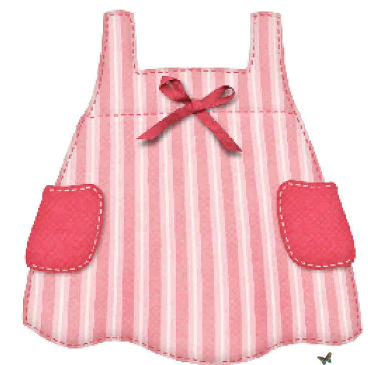Pink Dress clipart kid cloth #11