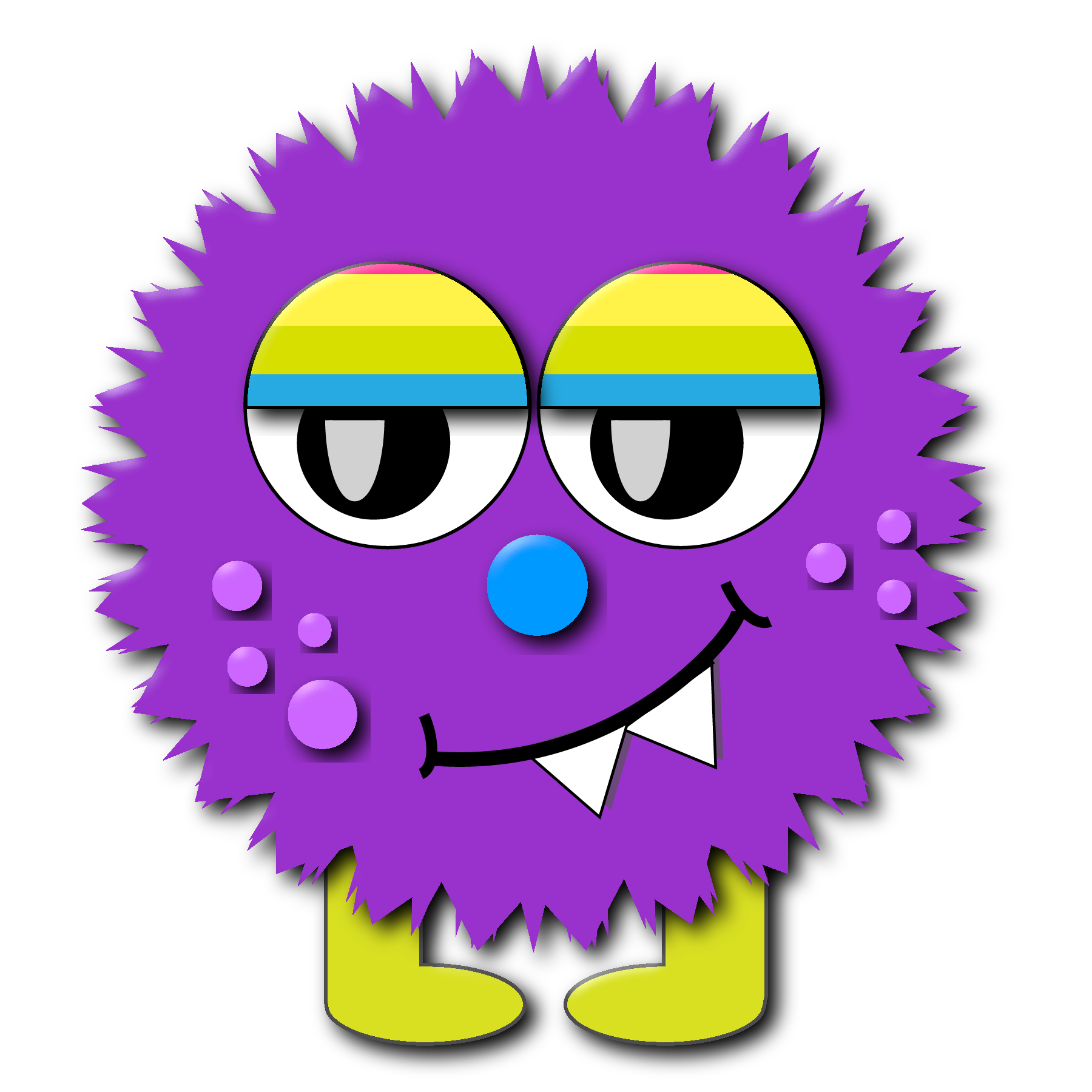 Pink Eyes clipart baby monster And Monsters One Clipart Art