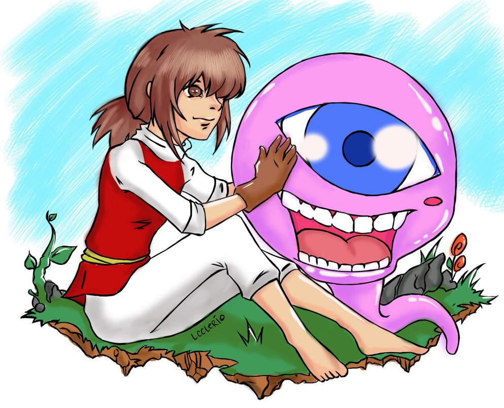 Pink Eyes clipart cute monster Rancher miserysong Pink on Rancher