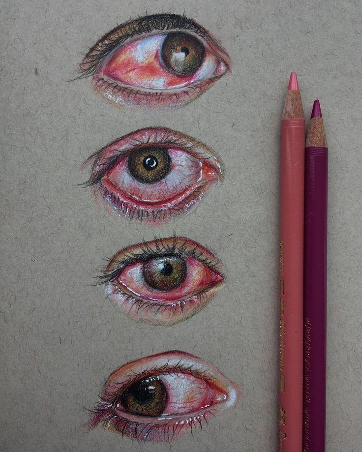 Pink Eyes clipart eye pain Pinterest Eyes Study Bloodshot Bloodshot