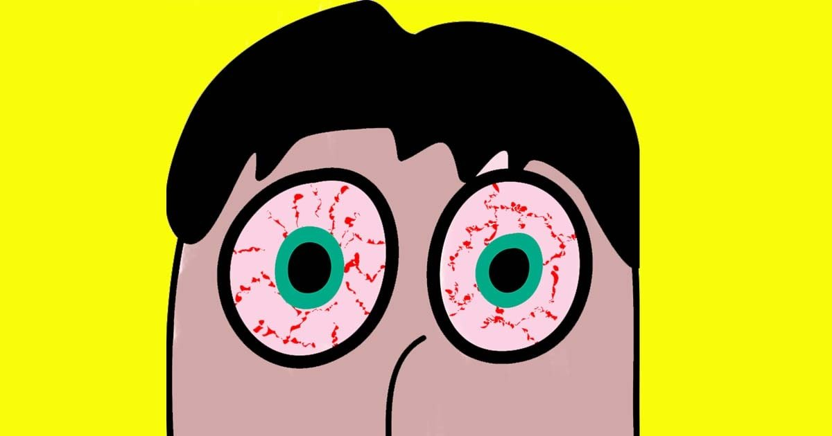 Pink Eyes clipart eye pain Against How This You This