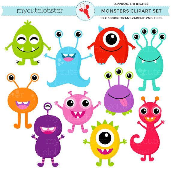 Marshmellow clipart monster Of clip Set Clipart ideas